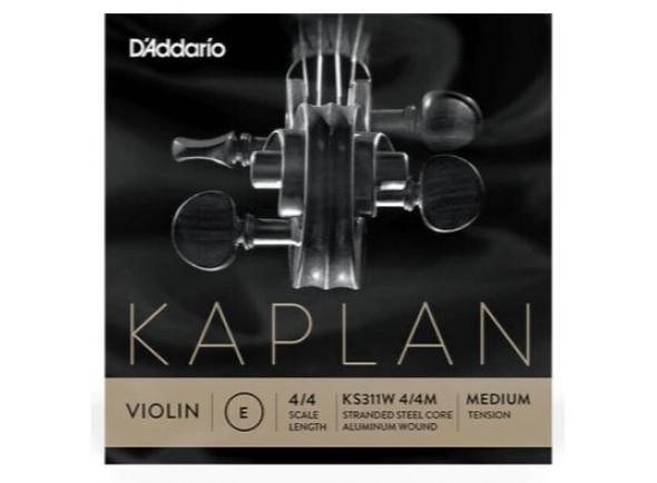 Cordas D´Addario Kaplan KS311W Non Whistling E String