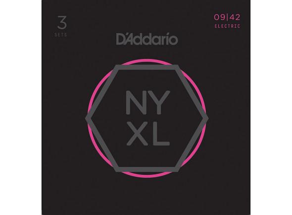 Jogo de cordas .009 D´Addario  NYXL0942-3P
