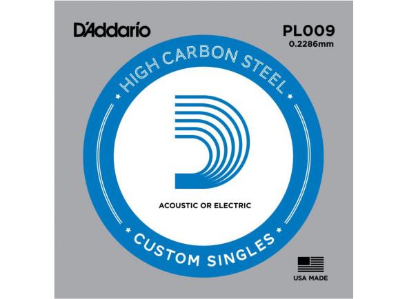 Cordas individuais para guitarra D´Addario  PL009 Pack - 5