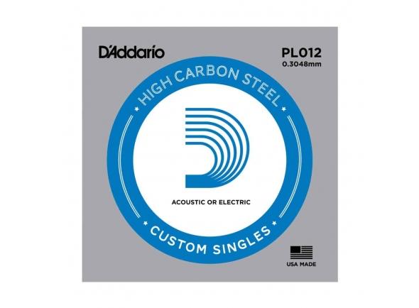 Cordas individuais para guitarra D´Addario PL012 Single String