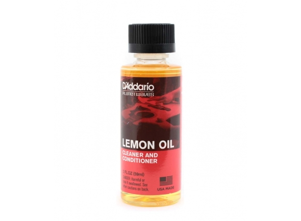 Produtos de limpeza para guitarra D´Addario PW-LMN Lemon Oil