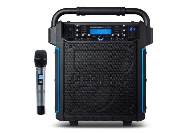 Sistemas Portáteis com Bateria Denon Professional Commander Sport