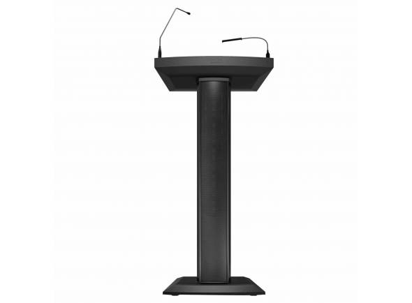 Denon Púlpito Activo    Púlpito com coluna de alto-falante embutida de 2 vias    Microfone Gooseneck com base XLR    Linha RCA e entradas de reprodução de 3,5 mm