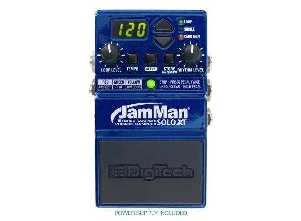 Digitech JamMan Solo XT Looper/Phrase Pedal