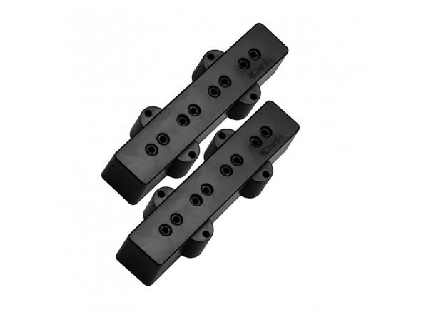 Captador J-Bass de 4 cordas DiMarzio DP123BK Set