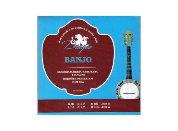 Cordas para banjo Dragão 032 Banjo 4 Cordas