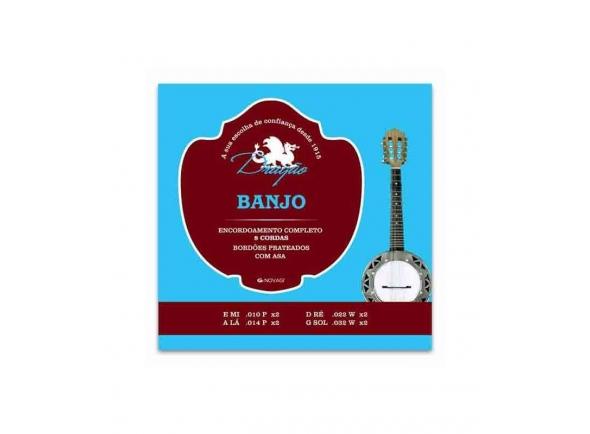 Cordas para banjo Dragão 035 para Banjo de 4 cordas