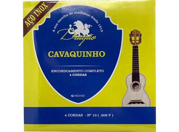 Dragão Aço Inox Cavaquinho 4 cordas Nº10 (.009P)