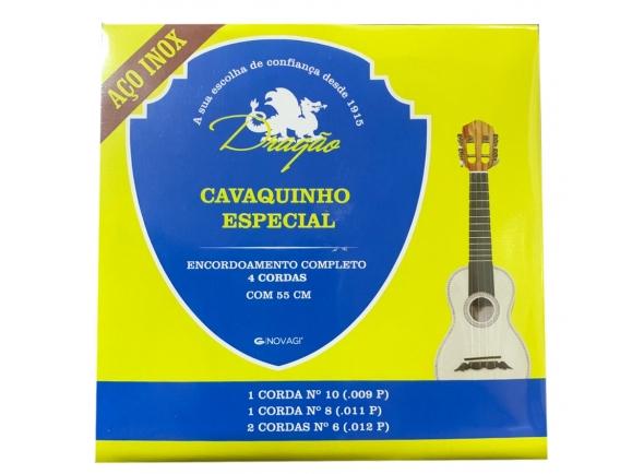Conjuntos de cordas para cavaquinho Dragão Aço Inox Cavaquinho Especial 55cm