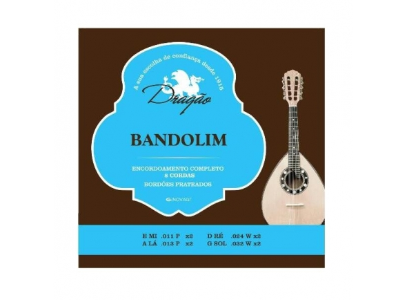 Dragão Bandolim/Mandolin Strings