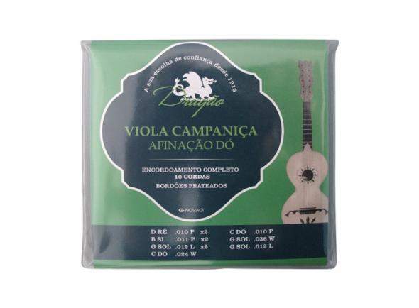 Jogos de cordas para Guitarra Portuguesa Dragão Campaniça Afinação Dó 10 Cordas