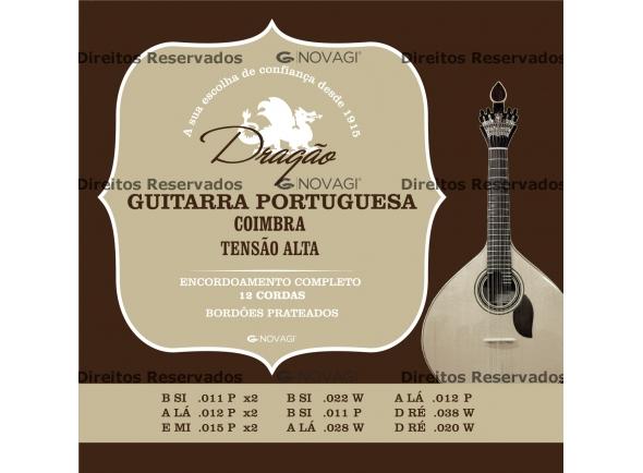 Dragão Cordas para Guitarra Portuguesa Coimbra