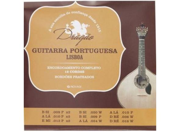 Jogos de cordas para Guitarra Portuguesa Dragão Guitarra Portuguesa Lisboa
