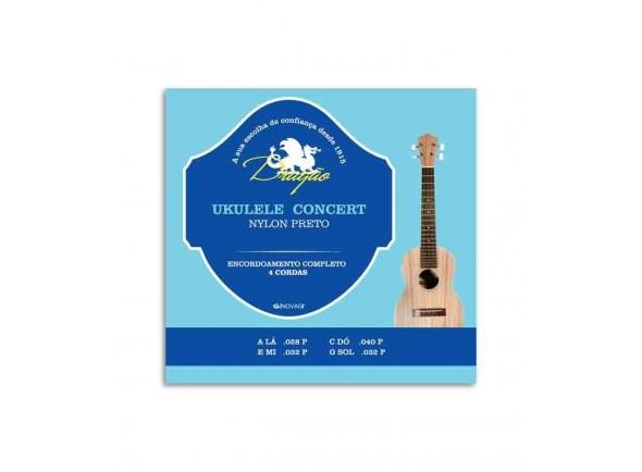 Cordas para ukulele Dragão UK065 Ukulele Concerto