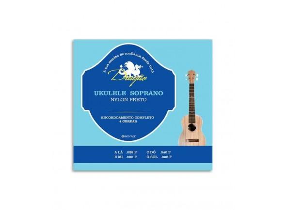 Cordas para ukulele Dragão UK066 Ukulele Soprano