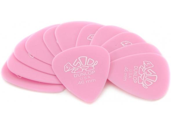 Dunlop Delrin 500 Pick Lt.Pink Set