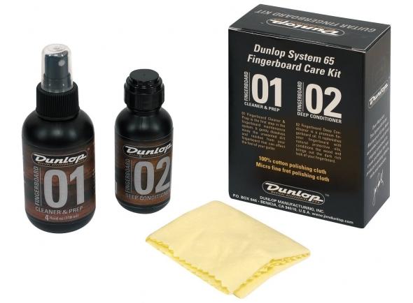 Produtos de limpeza para guitarra Dunlop Formula 65 Fretboard Kit