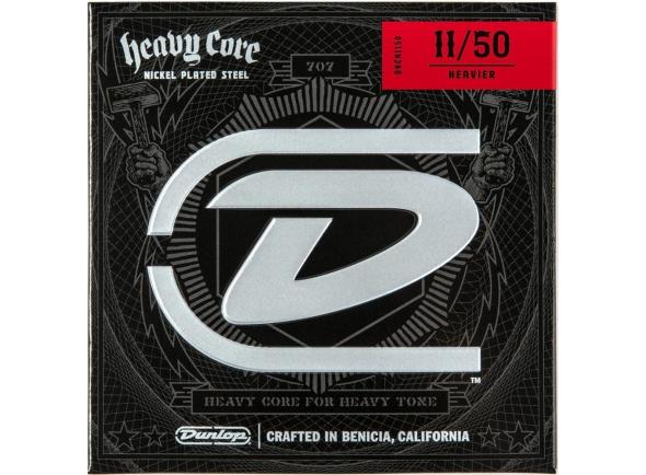 Jogo de cordas .011 Dunlop Heavy Core Heavier 11-50