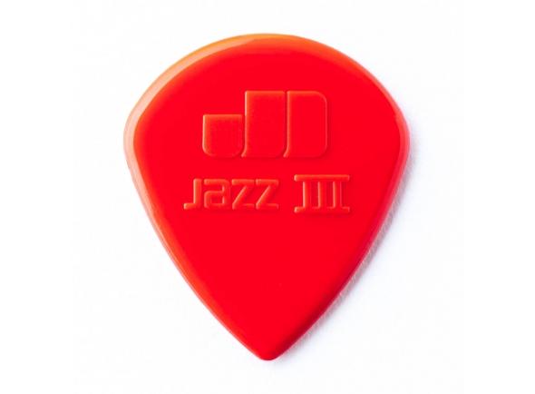 Palhetas para guitarra Dunlop  Jazz III 47R3S