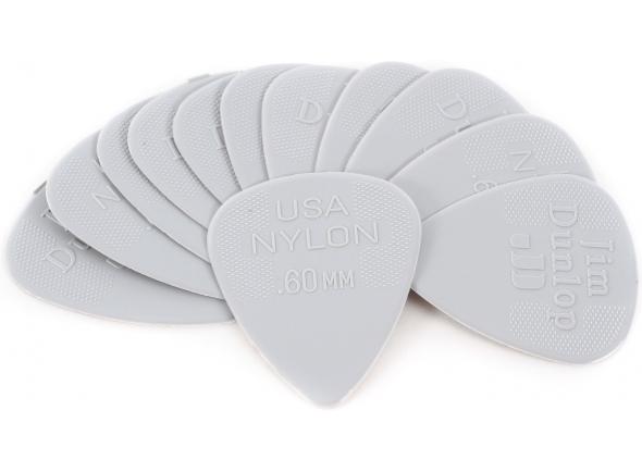 Palhetas para guitarra Dunlop Nylon Standard 0,60