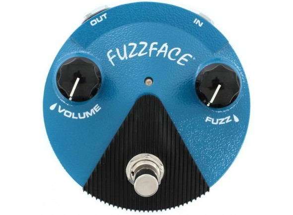 Pedal de distorção Dunlop Silicon Fuzz Face Mini Blue FFM1 B-Stock