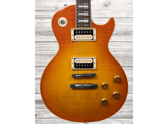 Guitarras formato Single Cut Edwards JAPAN ELPS VINTAGE HONEY BURST
