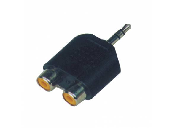 Adaptadores e conversores CSS Adaptador 2x RCA-Mini-Jack stereo CC310