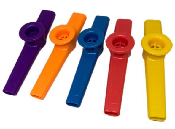 Instrumento Orff Egitana Kazoo Colorido Unidade