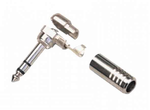 Fichas Jack de 6.3mm (macho e fêmea) CSS Conector Jack stereo CC168