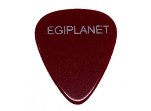 Egitana Palheta para Viola Egiplanet 1mm Vermelho Escuro