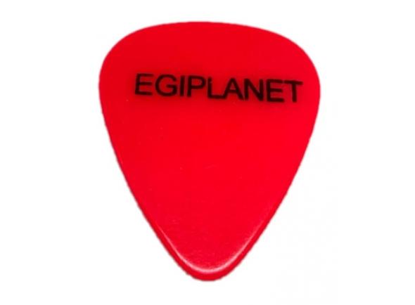 Egitana Palheta para Viola Egiplanet 1mm Vermelho florescente