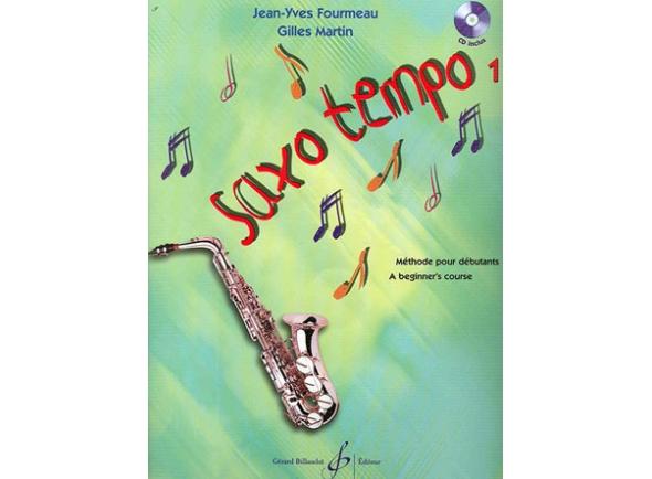Livros de saxofone Egitana Saxo Tempo 1