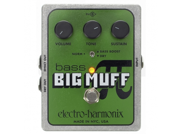 Pedais para baixo Electro Harmonix Bass Big Muff Pi