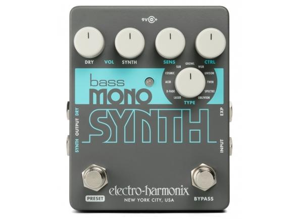 Pedais para baixo Electro Harmonix Bass Mono Synth