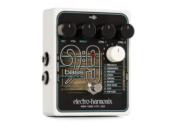 Outros efeitos para guitarra elétrica Electro Harmonix BASS9 Bass Machine