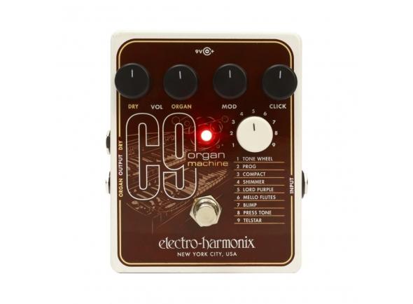 Outros efeitos para guitarra elétrica Electro Harmonix C9 Organ Machine