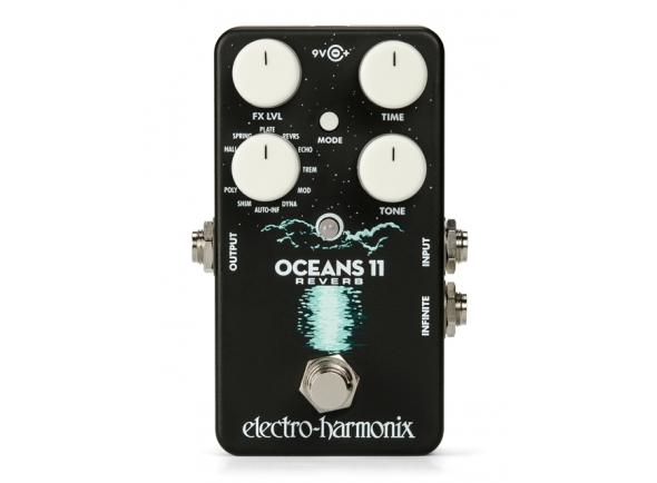 Efeitos reverb e hall Electro Harmonix Harmonix Oceans 11 Reverb