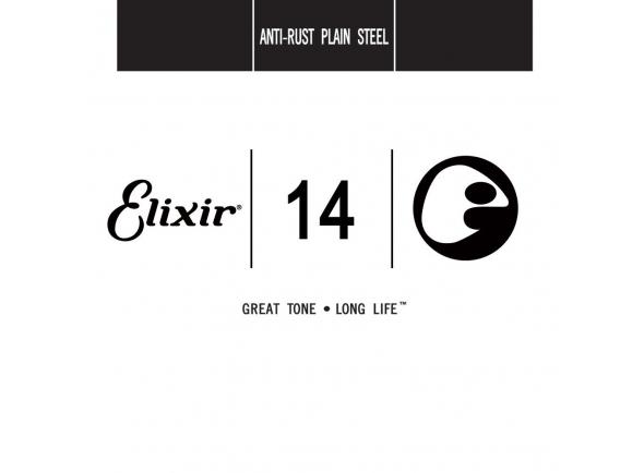 Elixir .014 Plain steel
