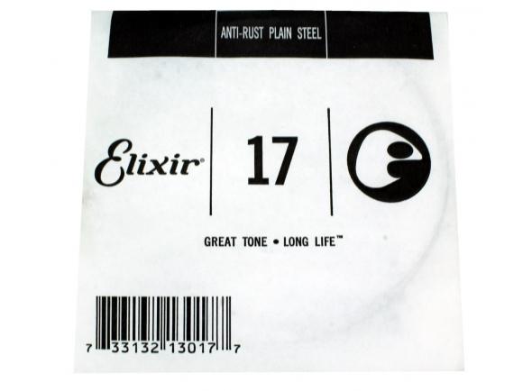 Cordas individuais para guitarra Elixir .017 Plain Steel