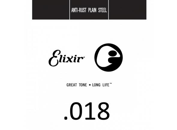 Elixir .018 Plain steel