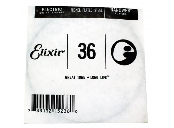 Cordas individuais para guitarra Elixir .036 Electric Guitar