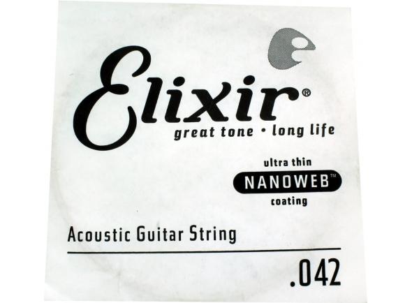 Cordas individuais para guitarra Elixir .042 Western guitar