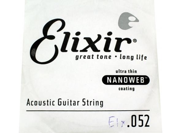 Cordas individuais para guitarra Elixir .052 Western guitar