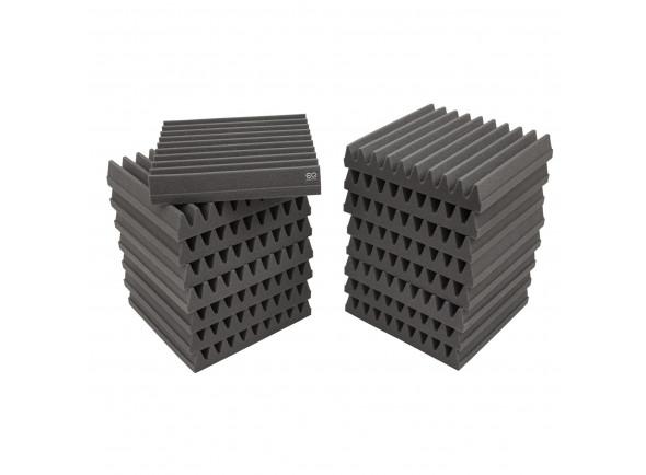 Absorvedores standard EQ Acoustics   Classic Wedge 30cm Tile grey