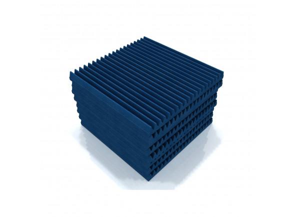 Absorvedores standard EQ Acoustics   Classic Wedge 60cm Tile blue