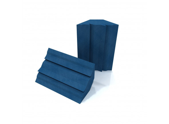 Basstraps / Absorvedores de canto EQ Acoustics   Project Corner Traps blue