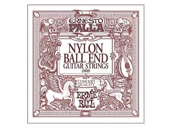 Jogos de cordas para guitarra clássica Ernie Ball 2409 Ernesto Palla