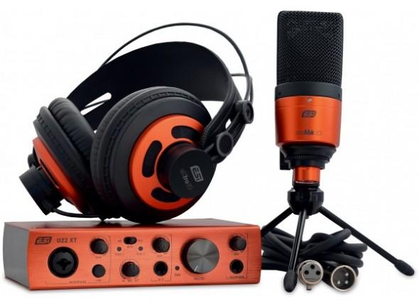 Interfaz de audio USB ESI U22 XT cosMik Set B-Stock