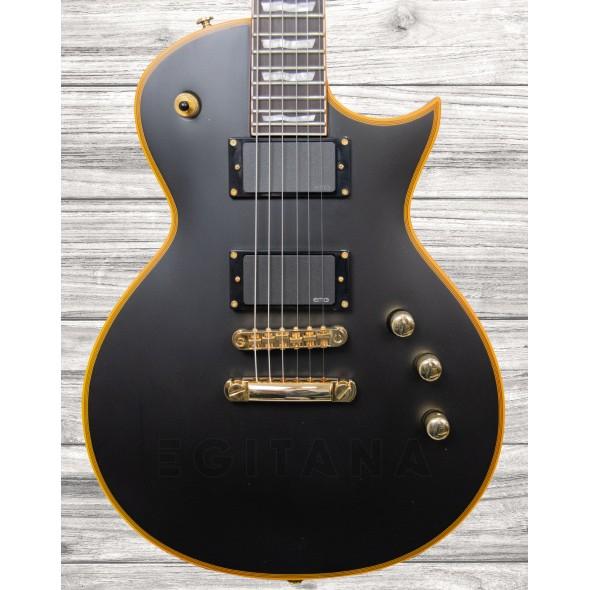 Guitarras de formato Single Cut ESP LTD EC-1000 Vintage Black