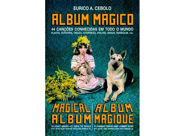 Eurico A. Cebolo Álbum Mágico - 44 canções